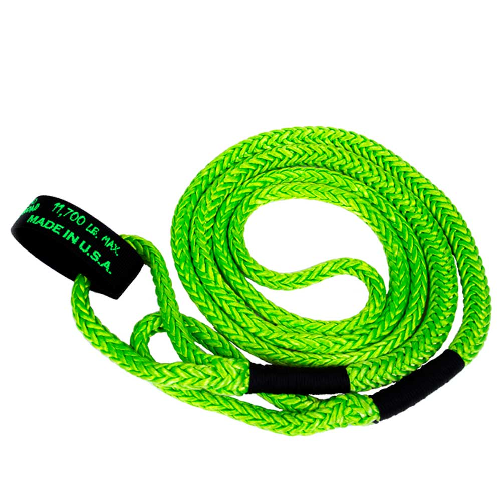"Image of ""Voodoo Off-Road 1/2"""" X 16'  Utv Kinetic Recovery Rope 11,700Lb - Green"""