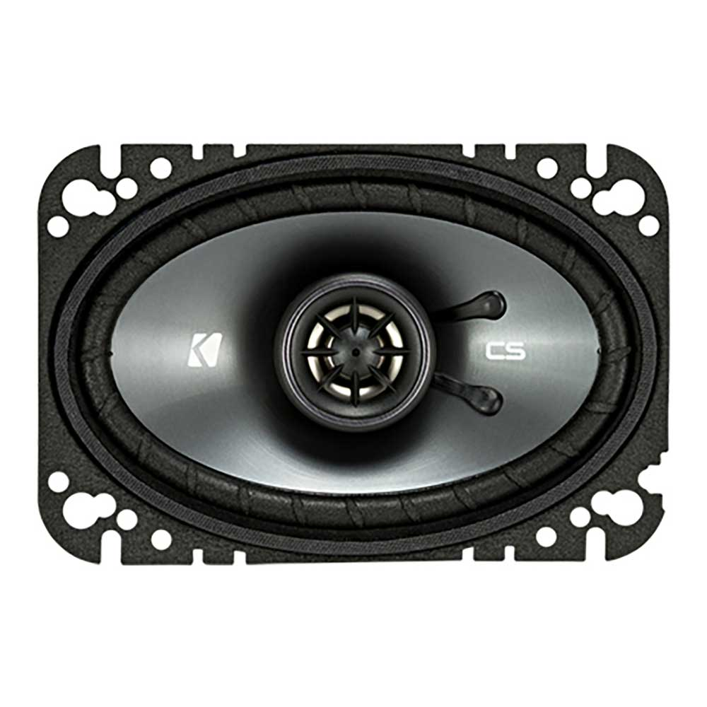 "Image of ""Kicker 4X6"""" Coaxial Speakers, 4 Ohm - Pair"""