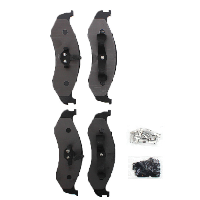 Image of Xtremestop Carbon Metallic Front Brake Pad Set