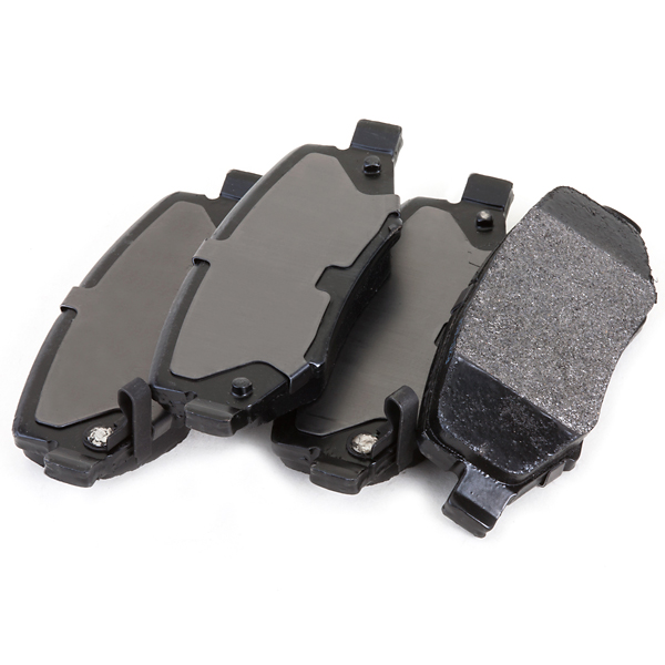 Image of Xtremestop Carbon Metallic Rear Brake Pad Set