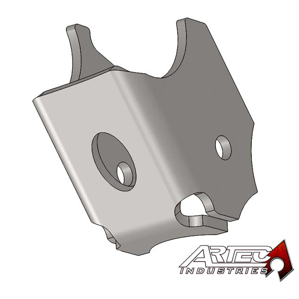 Image of Artec Industries Dana 30/44 Heavy Duty Lower Control Arm Brackets, Normal Hole - Pair