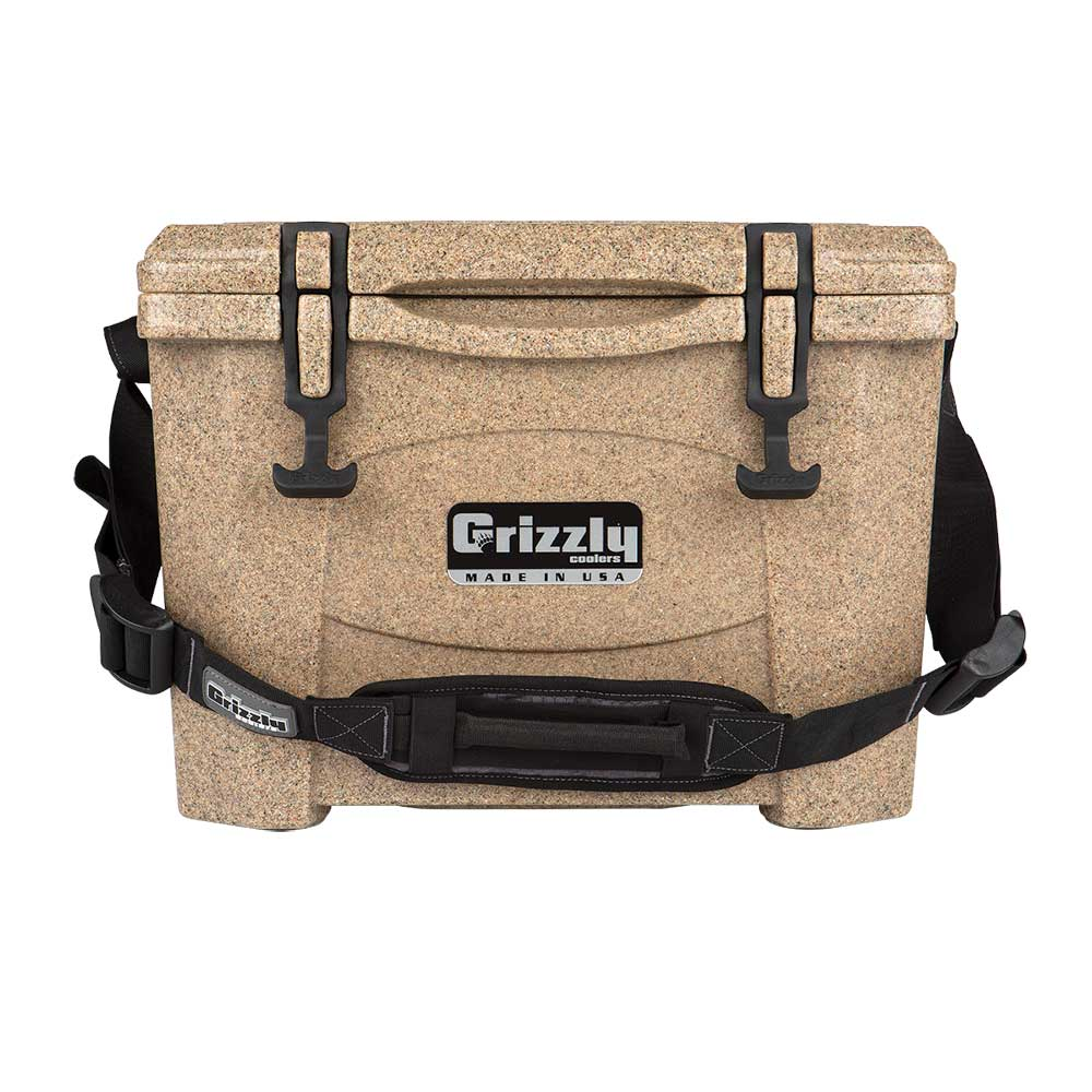 Image of Grizzly 15 Quart Rotomolded Cooler - Sandstone