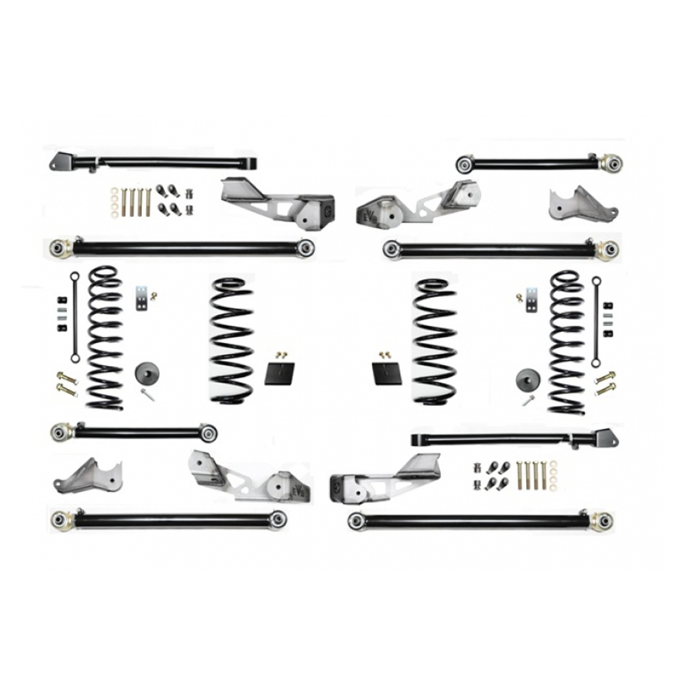 """Image of Evo 2.5"""" High Clearance Long Arm Suspension Lift Kit, Up To 37"""" Tires, No Shocks"""