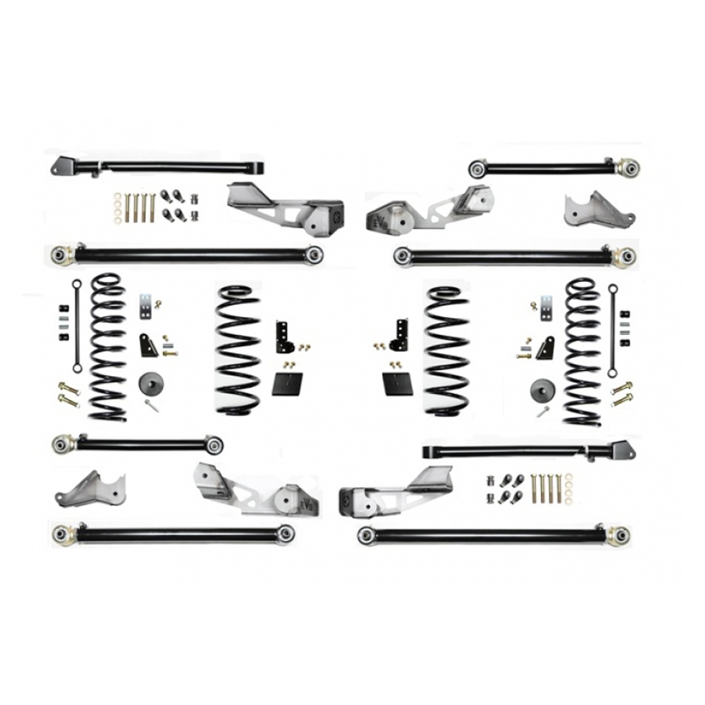 """Image of Evo 2.5"""" High Clearance Long Arm Suspension Lift Kit With Shock Extensions, Up To 37"""" Tires, No Shocks"""