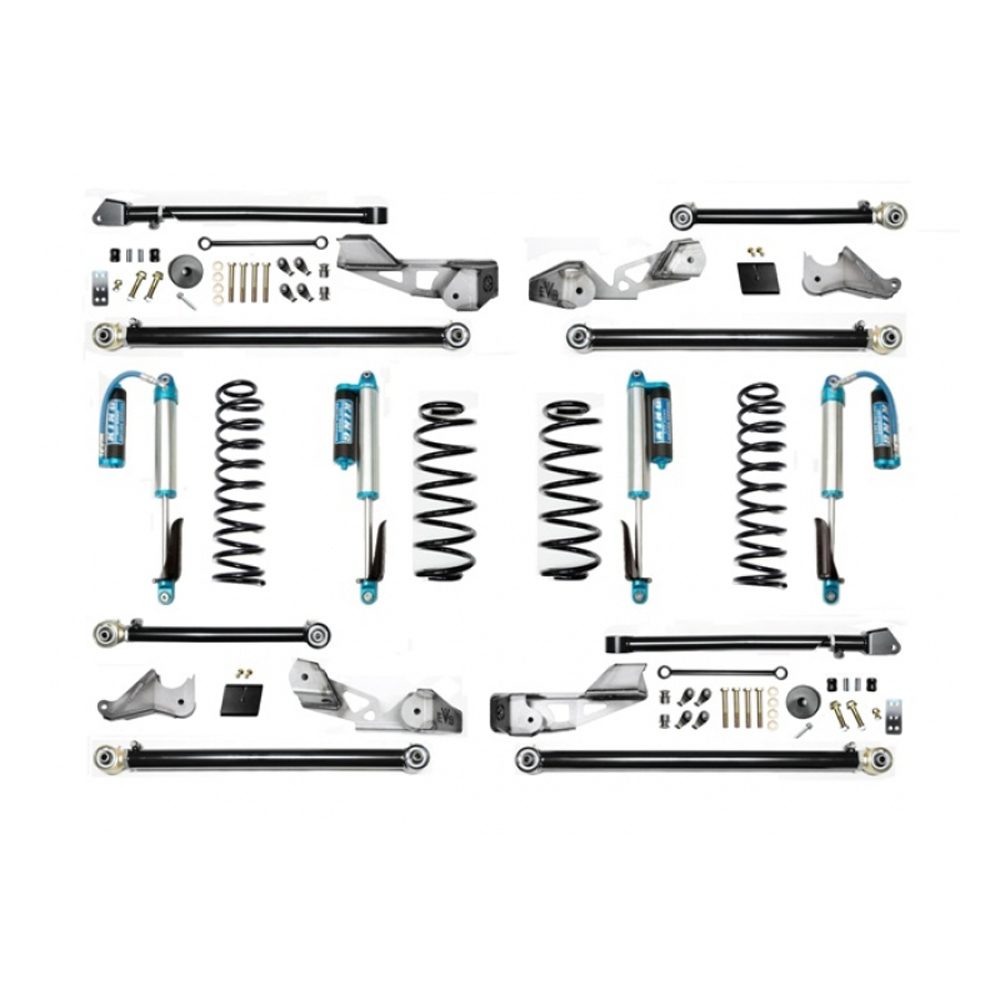 """Image of Evo 2.5"""" High Clearance Long Arm Suspension Lift Kit, Up To 37"""" Tires, With Remote Reservoir Shocks"""