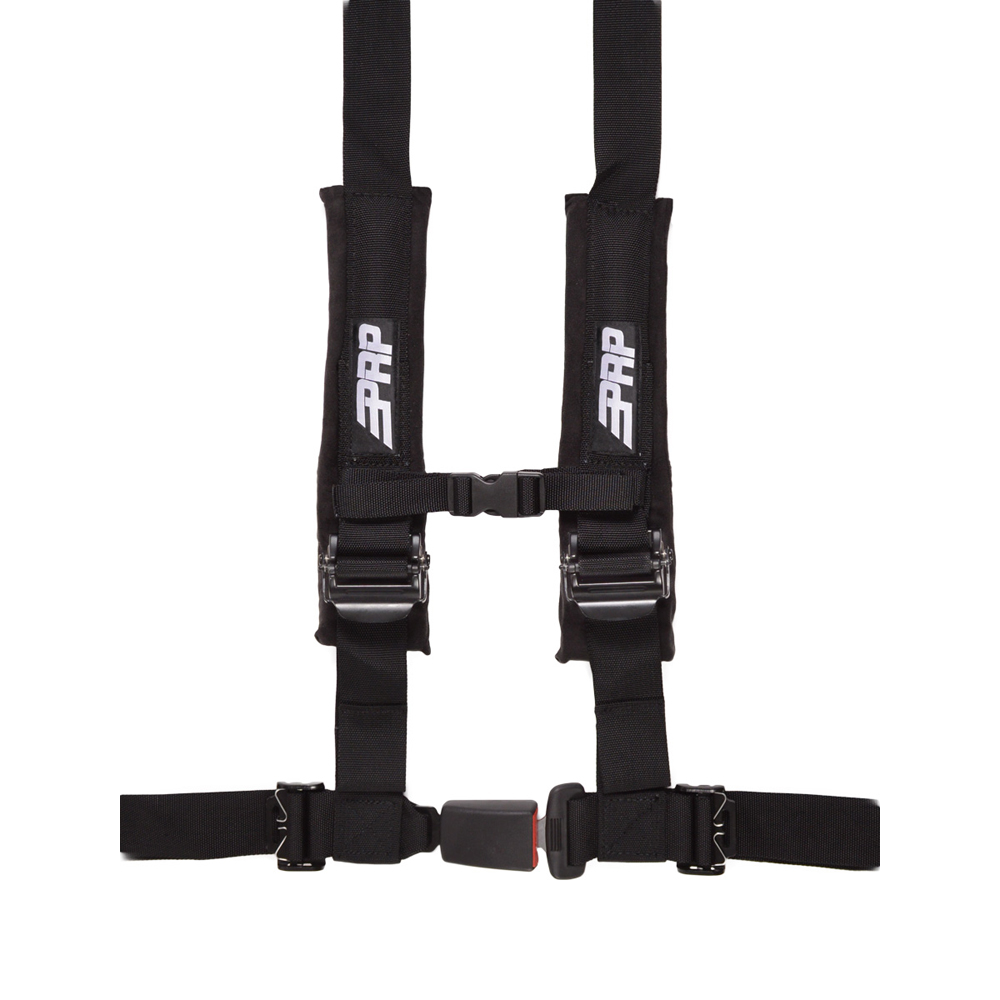 """Image of Prp 2"""" Safety Harness, 4 Point - Black"""