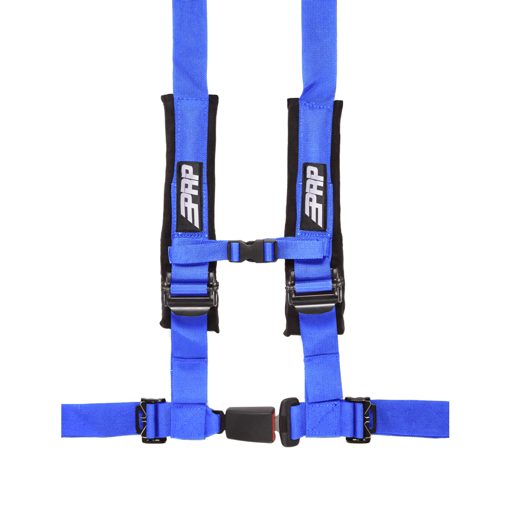 """Image of Prp 2"""" Safety Harness, 4 Point - Blue"""