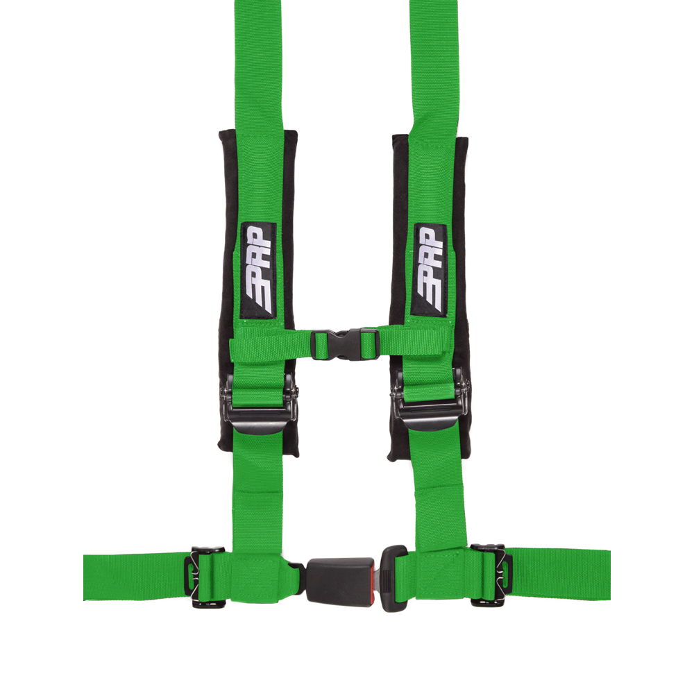 """Image of Prp 2"""" Safety Harness, 4 Point - Green"""