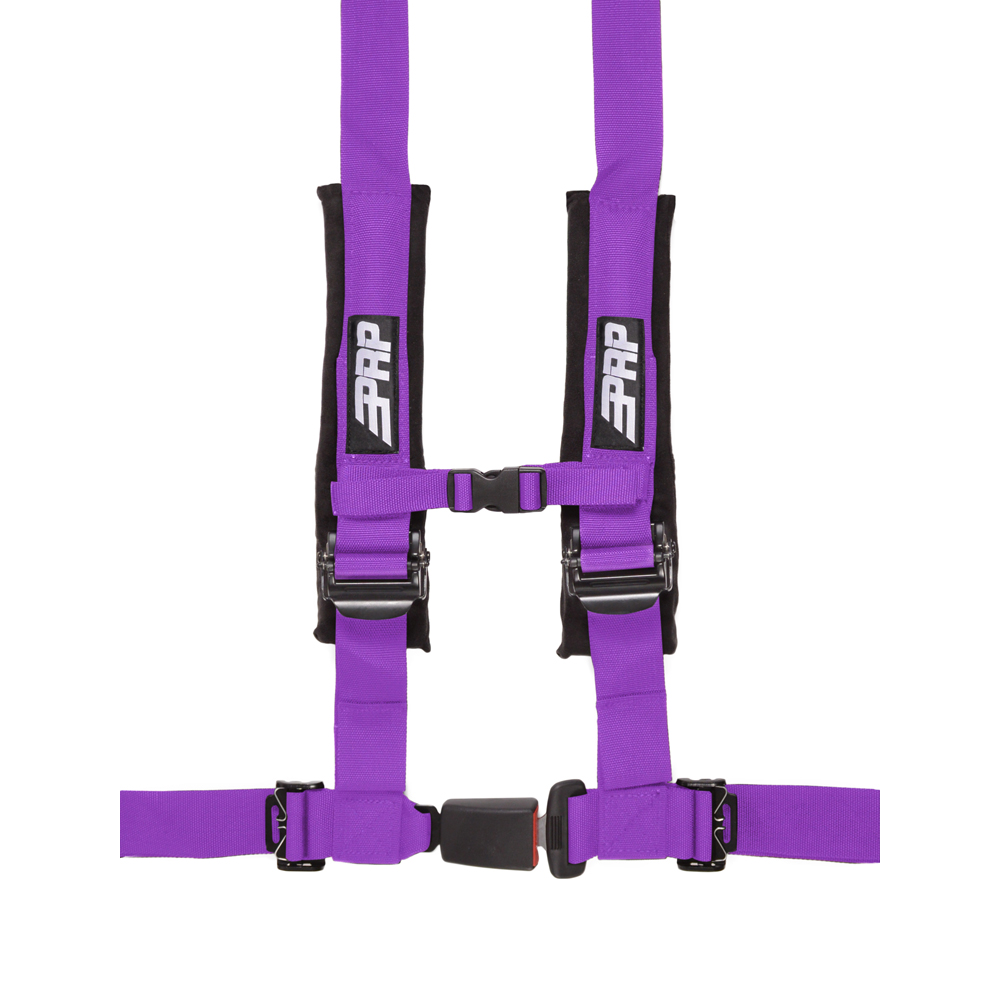 """Image of Prp 2"""" Safety Harness, 4 Point - Purple"""