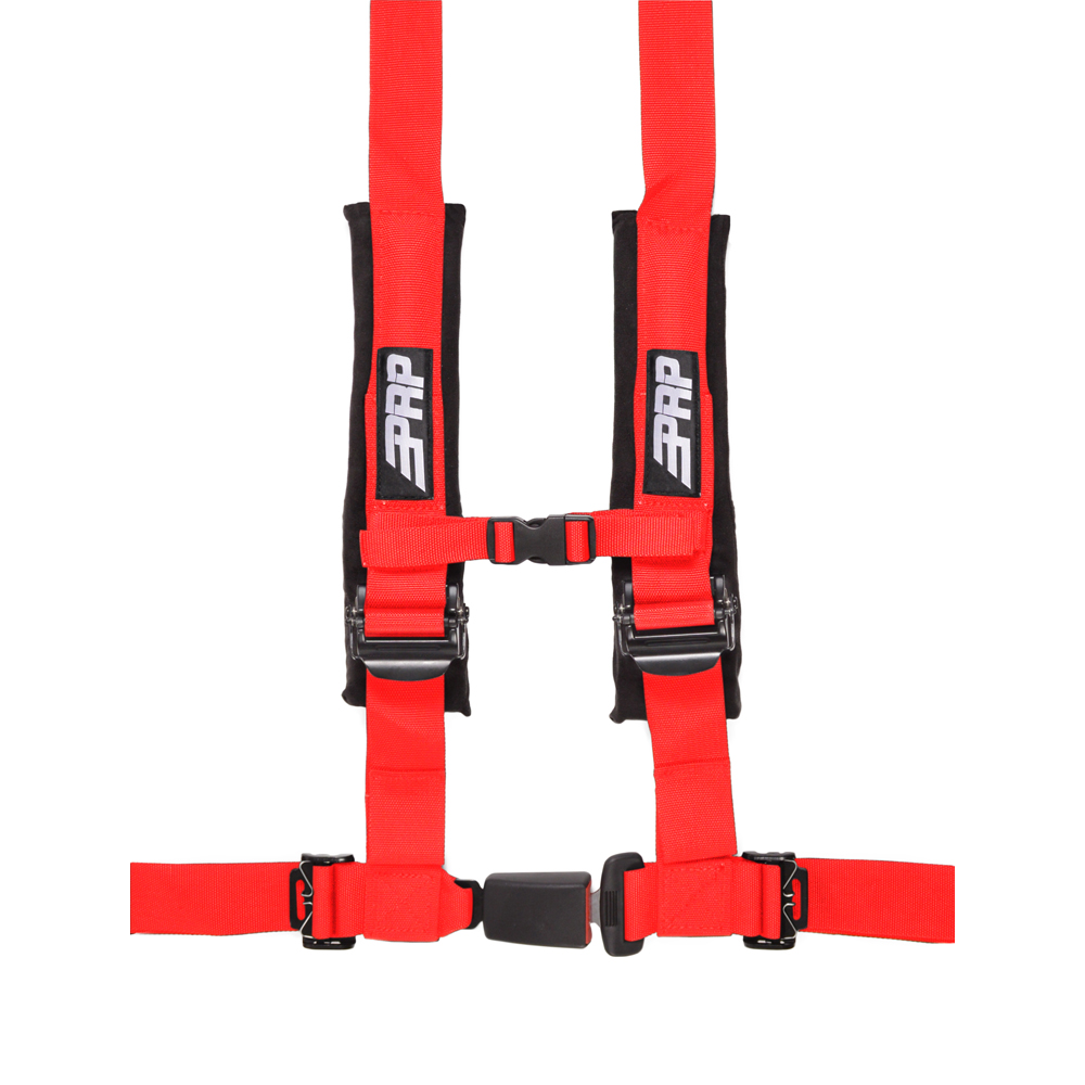 """Image of Prp 2"""" Safety Harness, 4 Point - Red"""