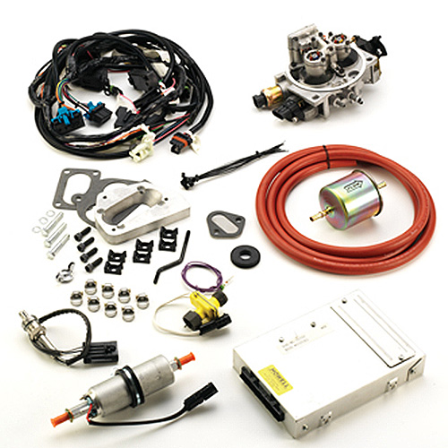 Image of Howell Fuel Injection Conversion Tbi Kit, 4-Barrel Carb - Offroad