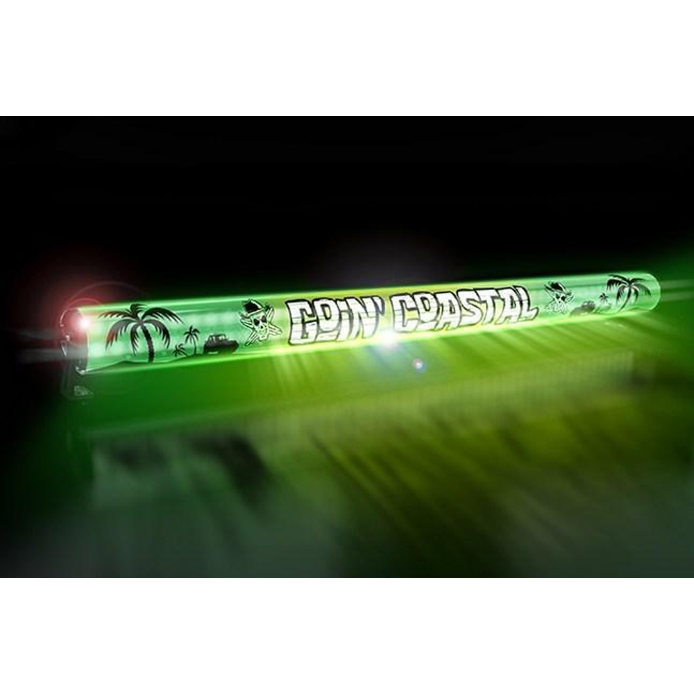 Aerolidz 52 Goin Coastal Insert For Dual Row Light Bar Silencer, Green, Exterior Car Parts,
