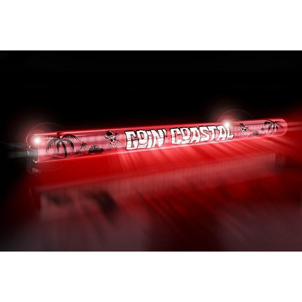 Aerolidz 52 Goin Coastal Insert For Dual Row Light Bar Silencer, Red, Exterior Car Parts,