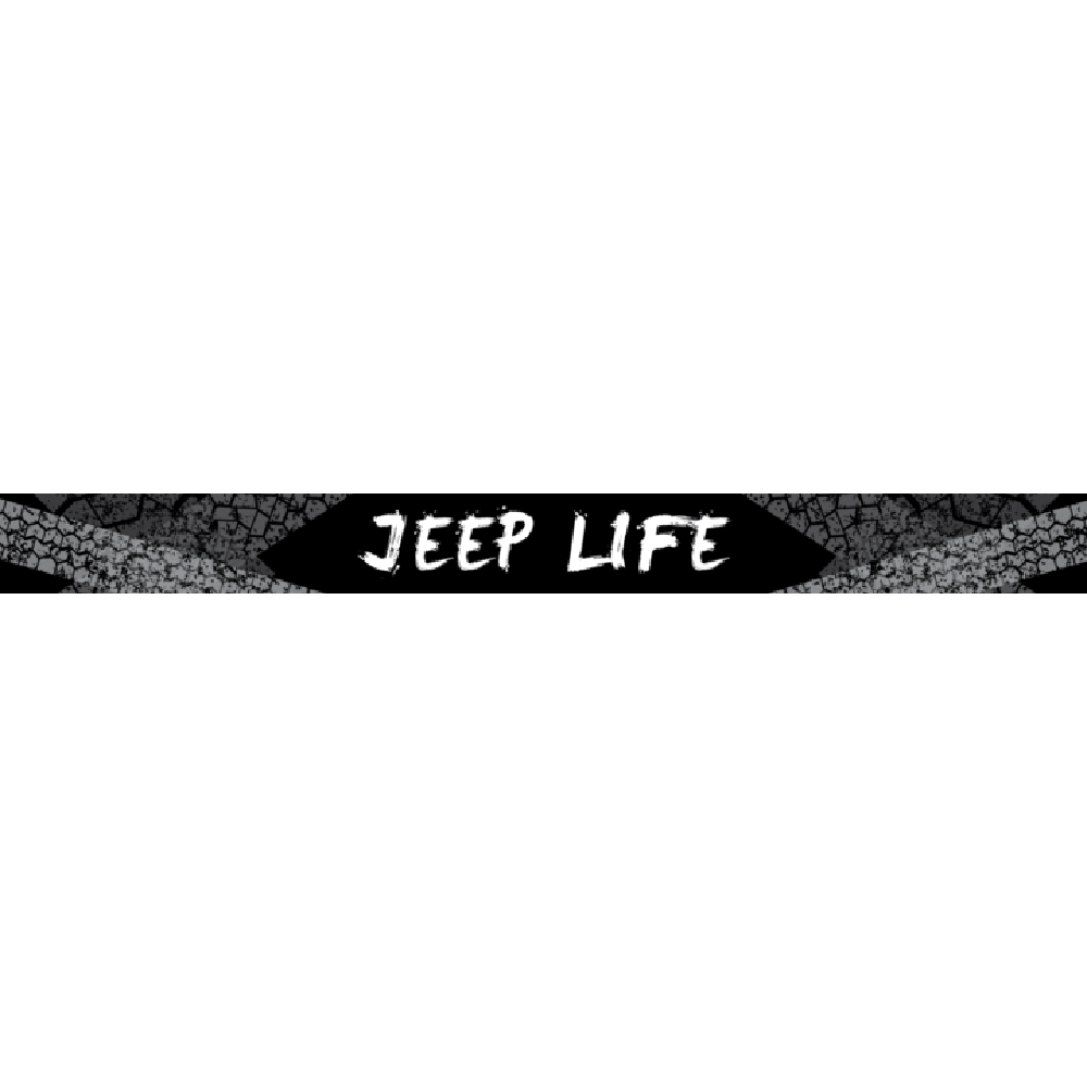 Jeep Aerolidz 52 Life Insert For Dual Row Light Bar Silencer, Exterior Car Parts, AXI-JPLF52