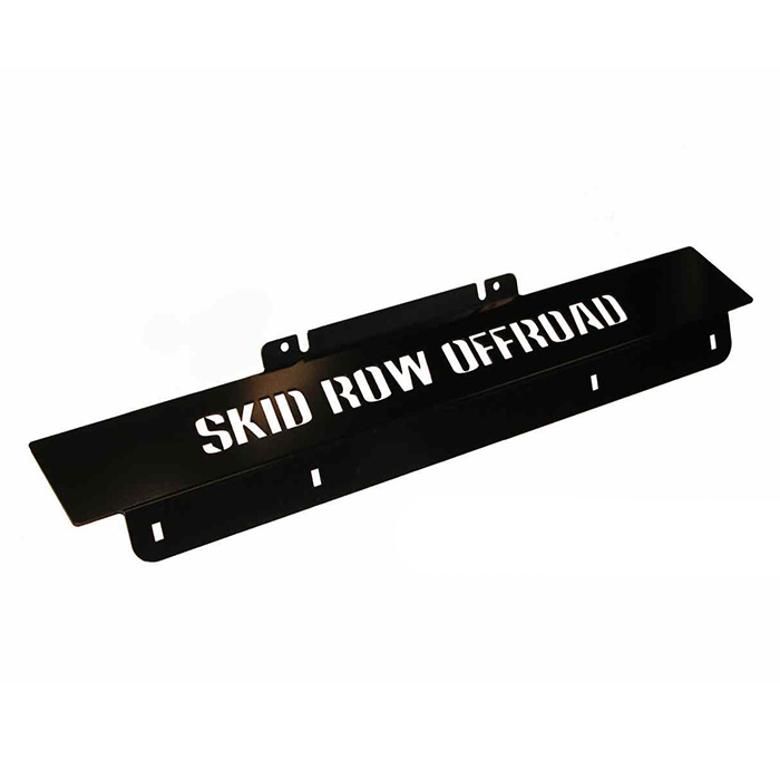 Jeep Skid Row Offroad Front Skid Plate, Black, Exterior Car Parts | 2007-2017 Wrangler JK &