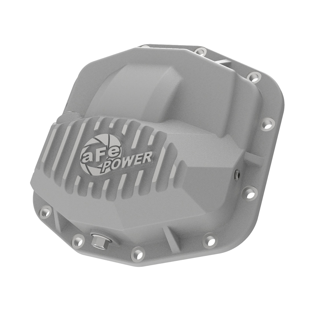 Afe Pro Series Front Differential Cover, Dana M210, Raw With Machined Fins   2018-2020 JL/JLU/JT,