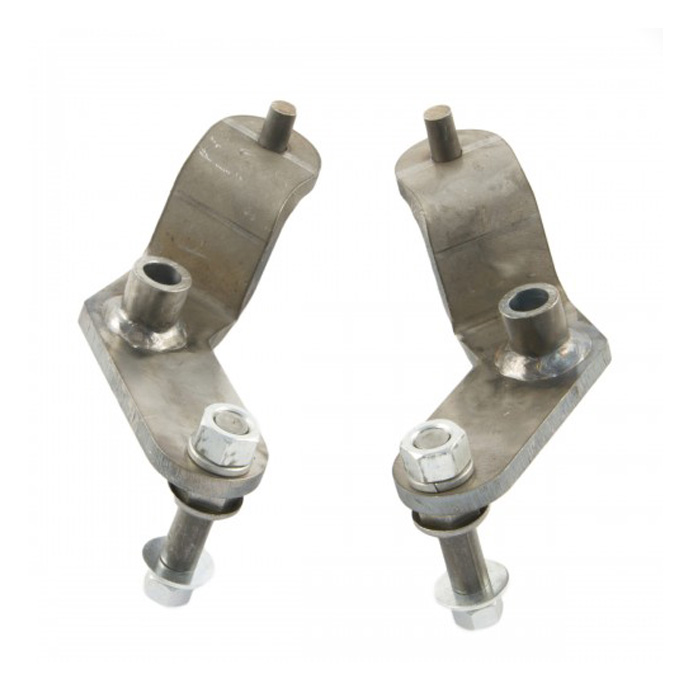 Image of M.o.r.e. 87-95 Yj Upper Rear Shock Mounts - Pair