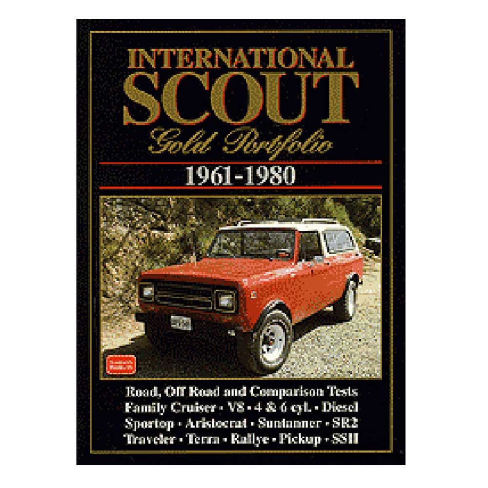 Image of Cartech Manual - International Scout Gold Portfolio
