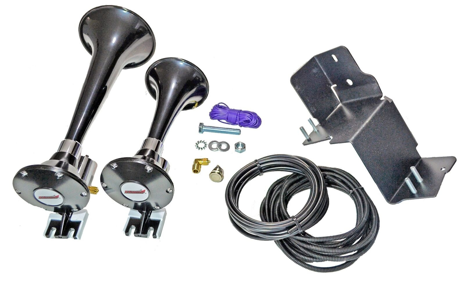 Image of Kleinn Air Horns Train Horn Add-On Kit For Jl-Jk-Oba