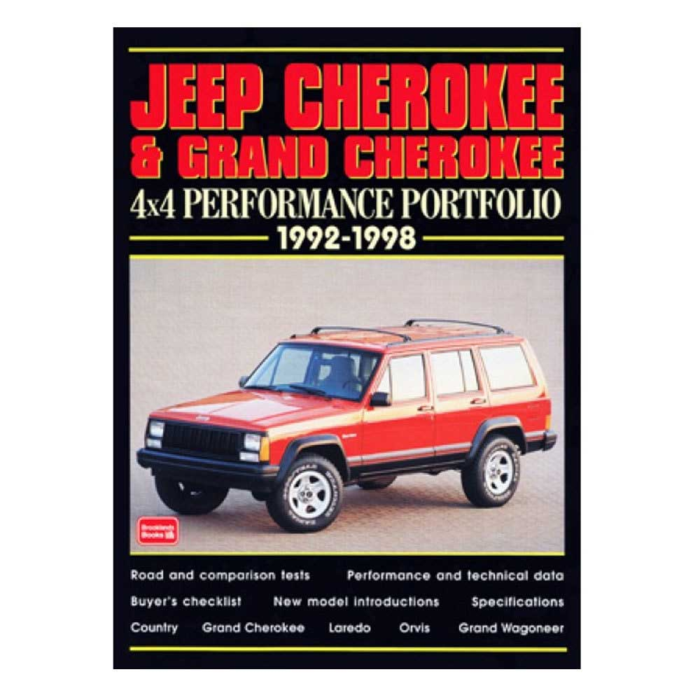 Image of Cartech Manual - Jeep Cherokee & Grand Cherokee 4X4 Performance Portfolio