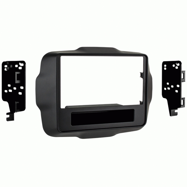 Image of Metra Double-Din Dash Mount Kit With Pocket
