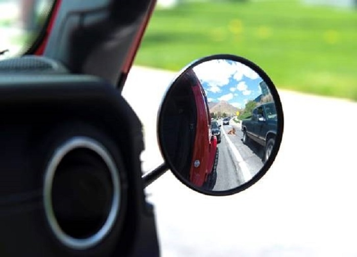 Image of Lange Originals Coyote Quick Release Mirrors, Black - Pair