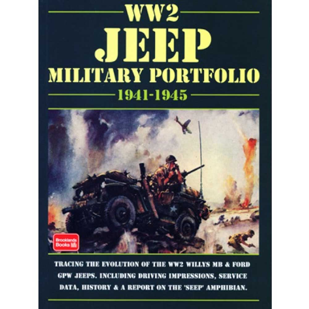 Fits: 1941-1945 Jeep Mb 1941-1945 Jeep Gpw Description: The Cartech Ww2 Jeep Military Portfolio Traces The Evolution Of The Jeep Mb And Gpw During Ww2. This Includes The Driving Impressions, Service Data, History And A Report On The Seep Amphibian. Product Details: Pages: 140 Size: 8 X 10.75 (Inches) Format: Paperback Illustrations: 275 B/w Photos Publisher: Marston Book Services, Ltd Isbn: 9781855202177 Parts Included: (1) Cartech Manual - Ww2 Jeep Military Portfolio Years Covered: 1941, 1942, 1943, 1944 And 1945