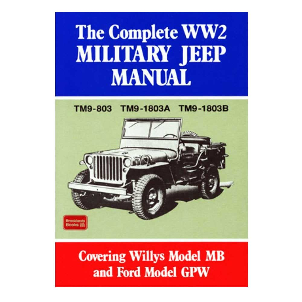 Fits: 1941-1945 Jeep Mb 1941-1945 Jeep Gpw Description: The Complete Ww2 Military Jeep Manual Contains Comprehensive Information On How To Maintain And Overhaul The Jeep Mb And Gpw That Were Manufactured During Ww2. Product Details: Pages: 546 Size: 8 X 10.75 (Inches) Format: Paperback Publisher: Marston Book Services, Ltd Isbn: 9781855201217 Parts Included: (1) Cartech Manual - The Complete Ww2 Military Jeep Manual Years Covered: 1941, 1942, 1943, 1944 And 1945