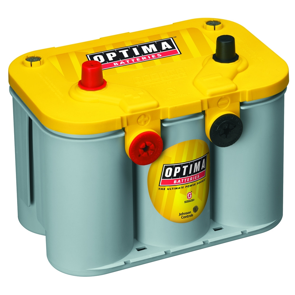 Image of Optima 12V D34/78 Yellowtop Deep Cycle Battery