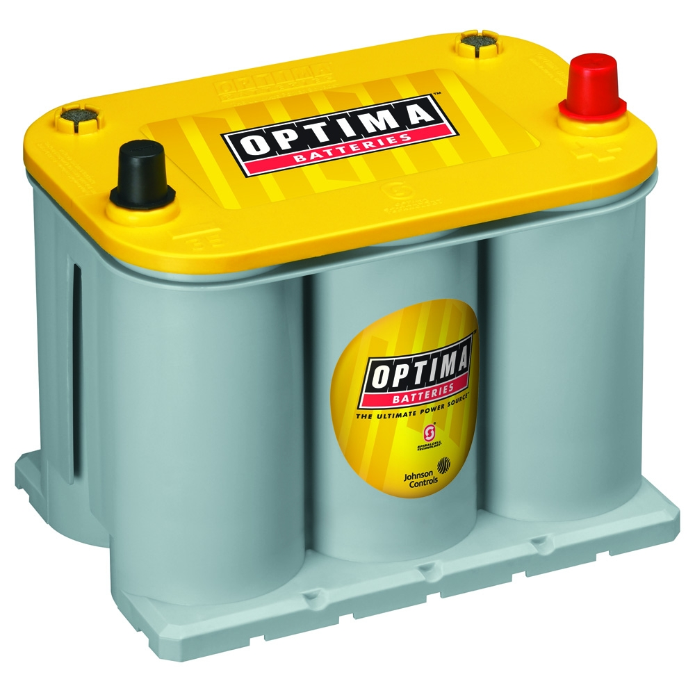 Image of Optima 12V D35 Yellowtop Starter & Deep Cycle Battery