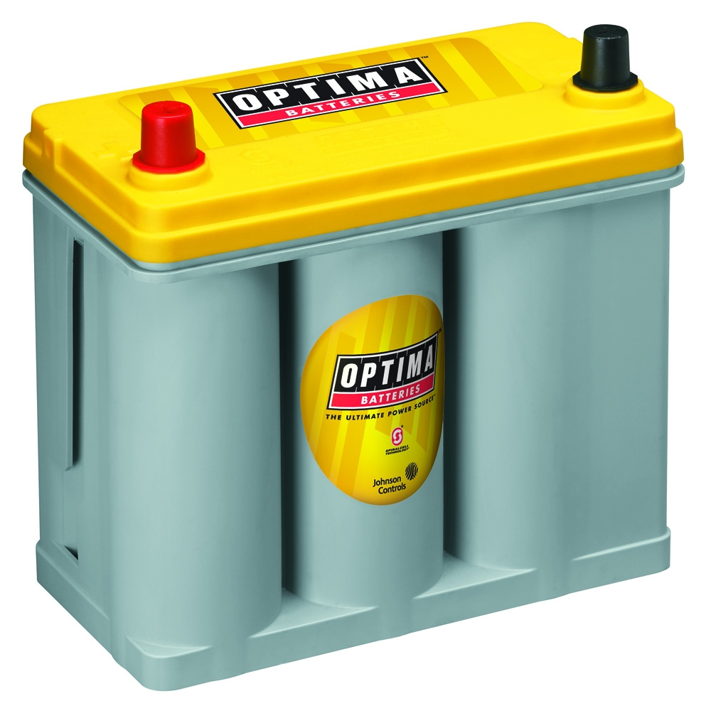 Image of Optima 12V D51 Yellowtop Starter & Deep Cycle Battery