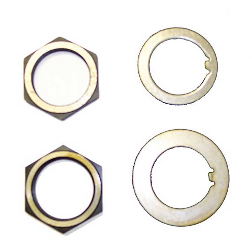 Jeep Omix Spindle Nut And Washer Kit | 1941-1945 MB & GPW, 16710.01