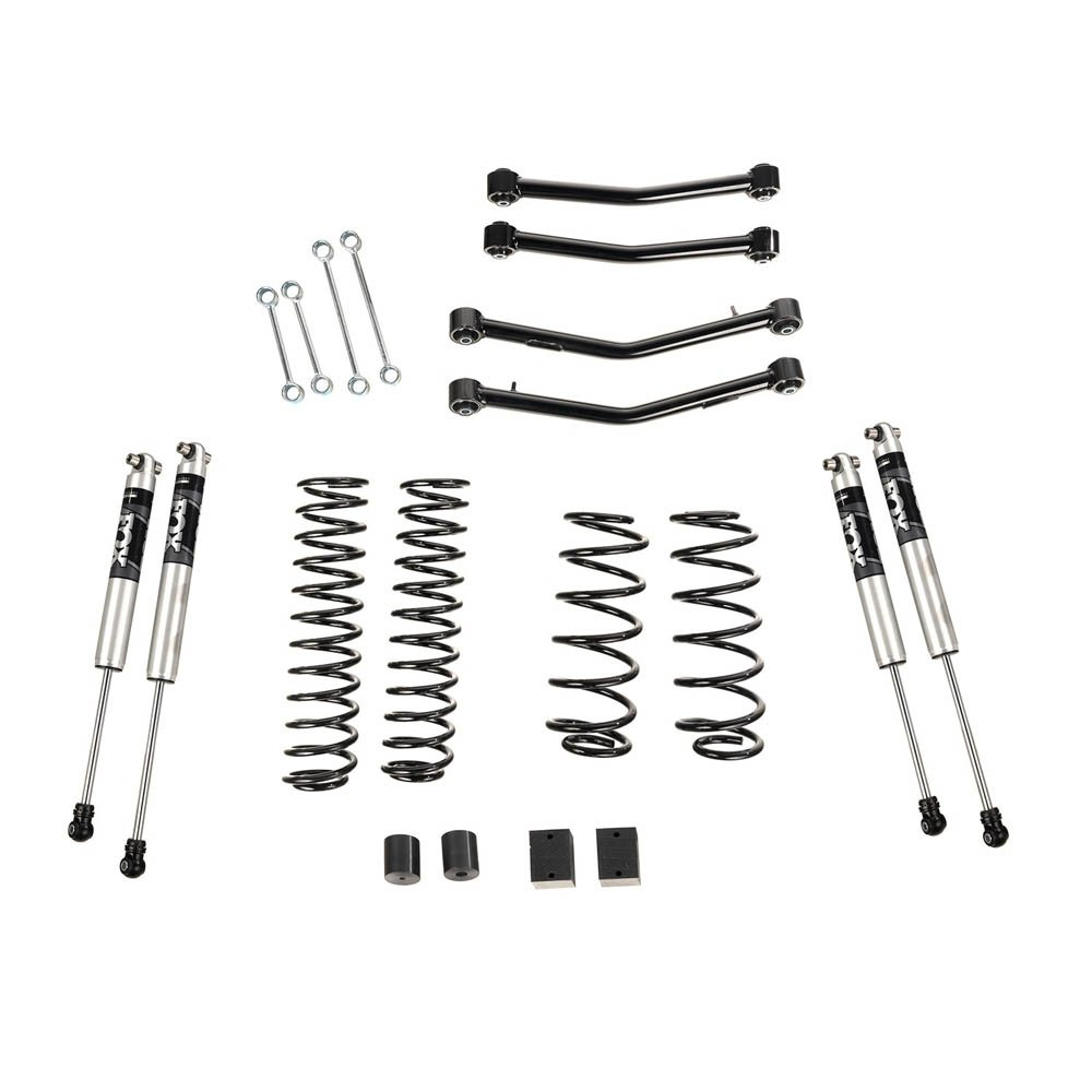 Jeep Alloy Usa 4 Lift Kit With Fox Shocks And Control Arms, 18-19 Wrangler Jl, 4 Door | 2018-2019