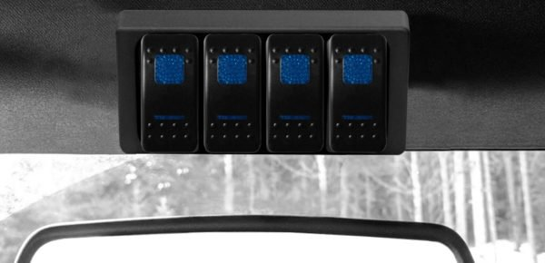 Jeep S-Tech Switch Systems 4 Position Control System For Tj With Dual Blue Led | 1997-2006 Wrangler