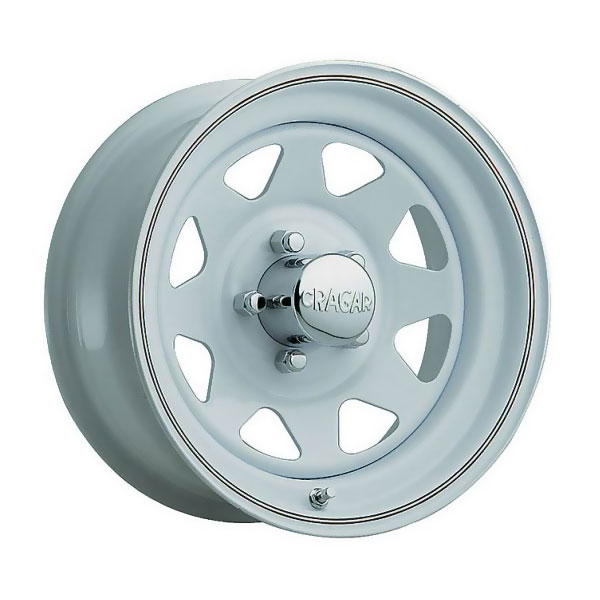 "Image of Jeep Cragar Series 310 Wheel, Nomad White 15"" X 8"" 