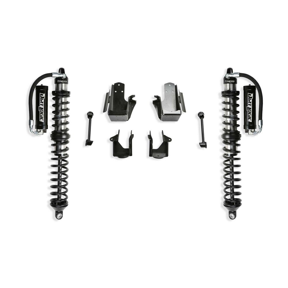 Jeep Fabtech 3 Coilover Conversion With Front Dirt Logic 2.5 Resi Coilovers, Suspension Parts |