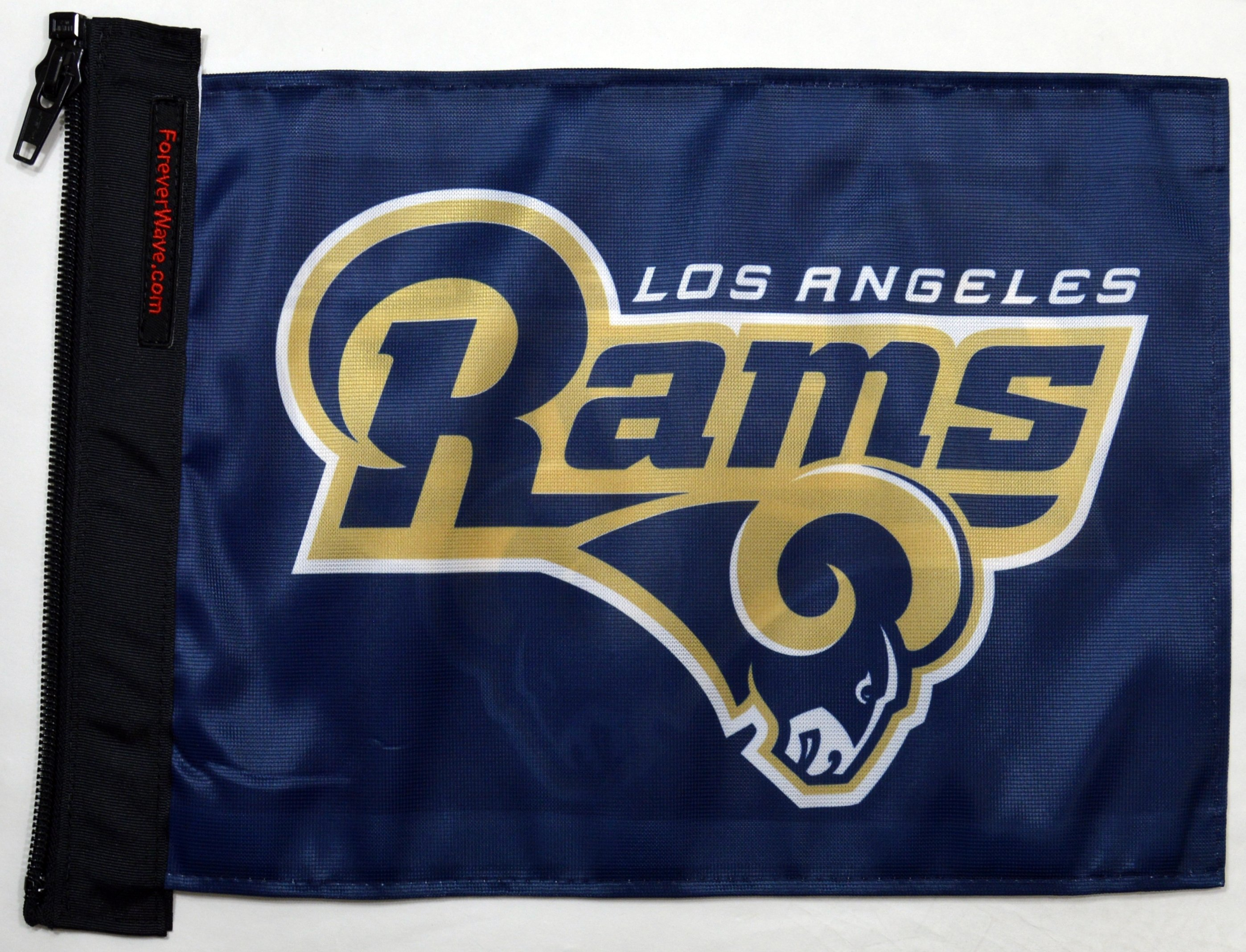 Jeep Forever Wave Los Angeles Rams Flag, 12 X 17