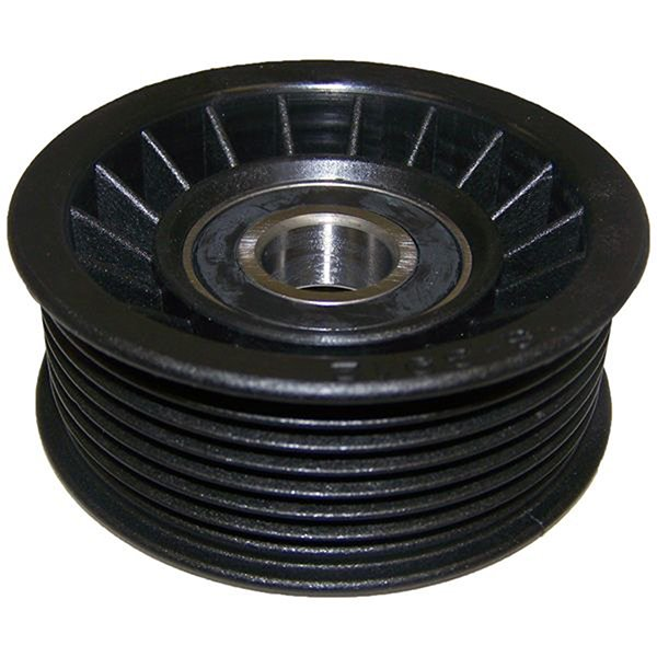 Jeep Crown Drive Belt Idler Pulley   1993-1998 Grand Cherokee ZJ with 5.2L Engine, 53010158P