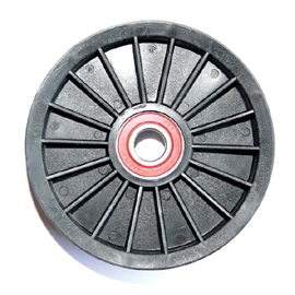 Jeep Crown Idler Pulley For 2.4 Liter Engine | 2002-2006 Wrangler TJ and Liberty KJ, 53013324AA