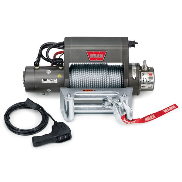 Warn Self Recovery Xd9000I Winch With Wire Rope And Roller Fairlead, 9,000 Lbs, W27550