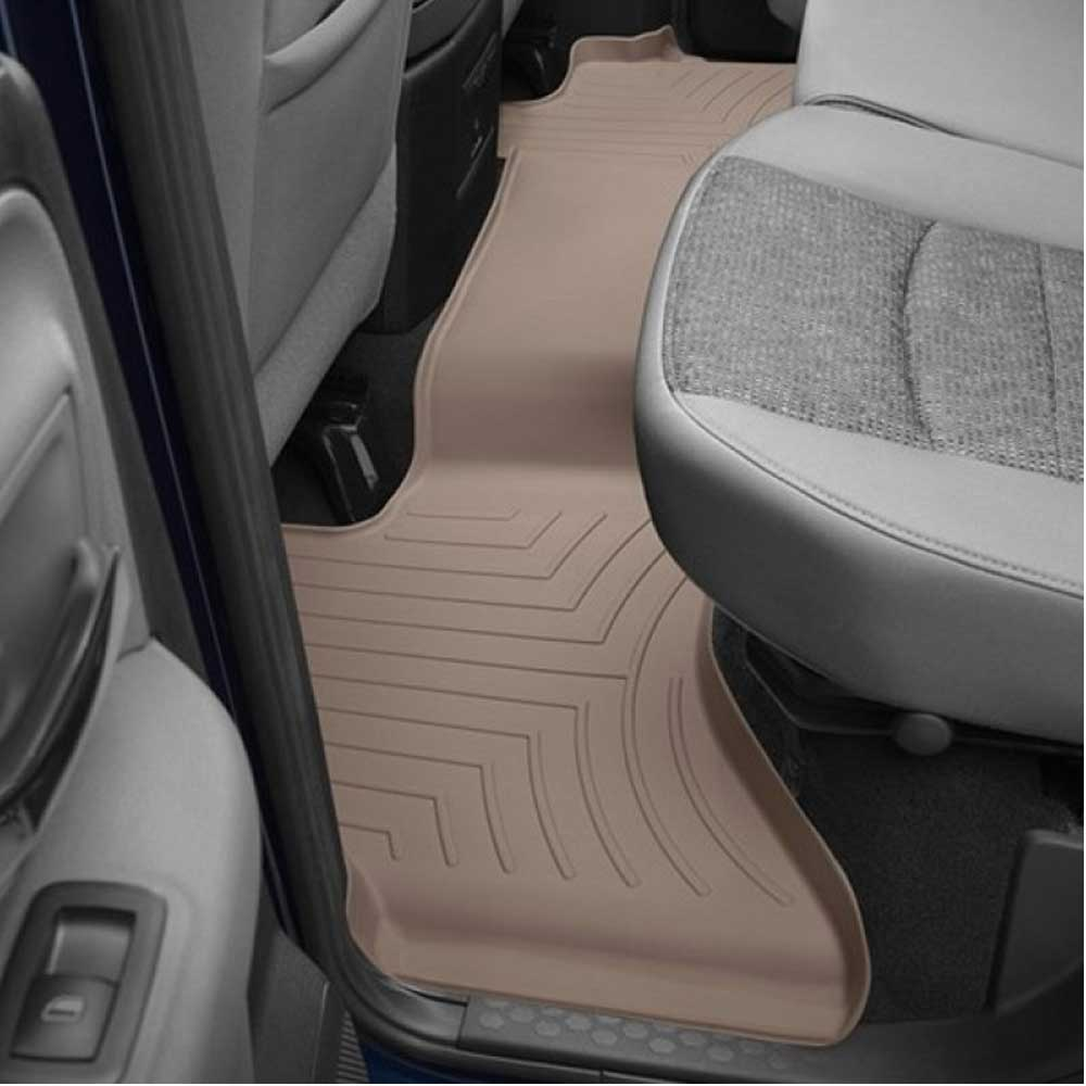 WeatherTech  452161  Custom Fit Front FloorLiner for Dodge Ram Tan