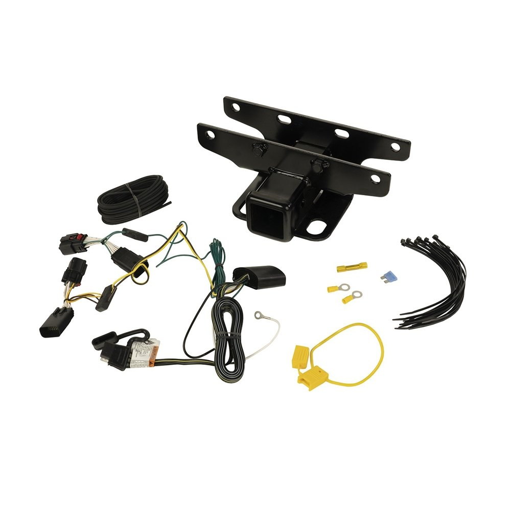 Jeep Rugged Ridge Trailer Hitch Kit With Wiring Harness For Jl | 2018-2019 Wrangler JL & Wrangler
