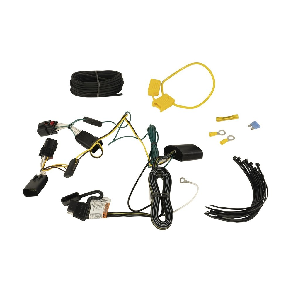 Jeep Rugged Ridge Trailer Wiring Harness For Jl | 2018-2019 Wrangler JL & Wrangler JL Unlimited,