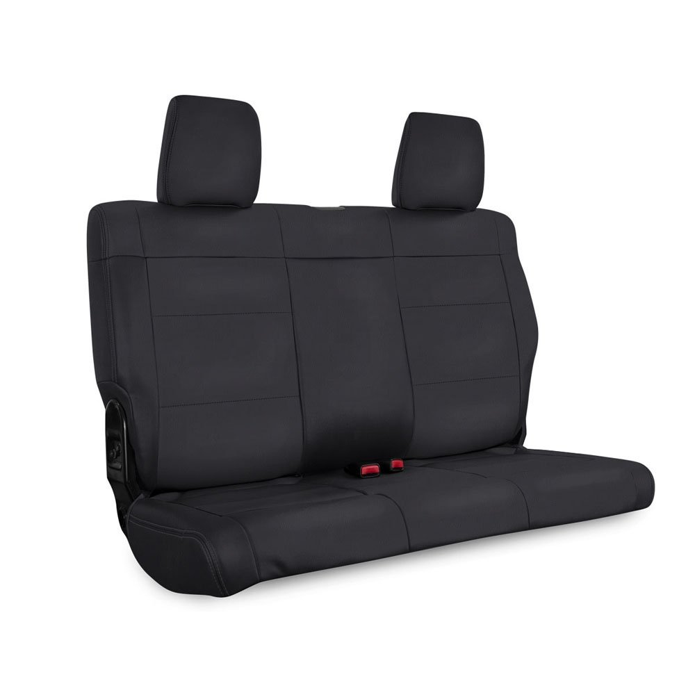 Jeep Prp Rear Seat Cover For 2007-2010 Jk & Jku, Black | 2007-2010 Wrangler JK & JKU, PRP-B017-02