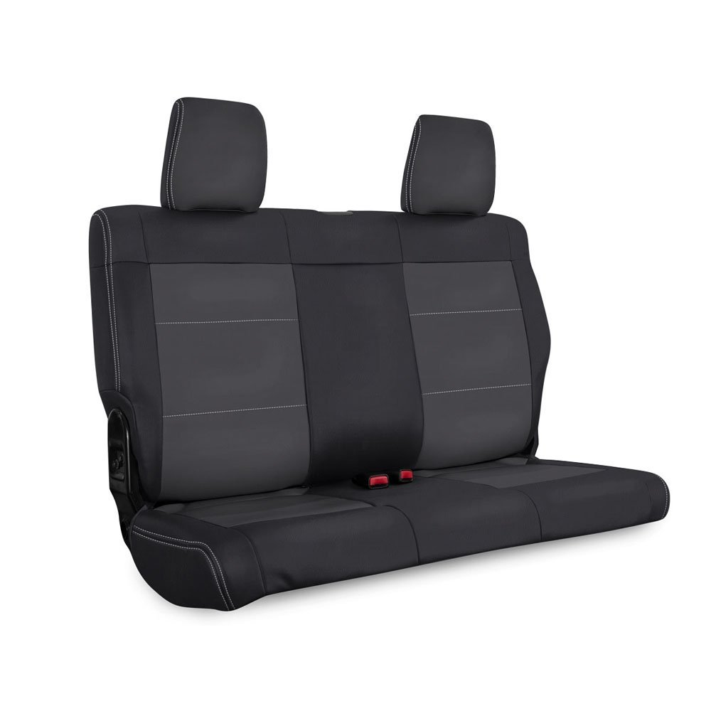 Jeep Prp Rear Seat Cover For 2007-2010 Jk & Jku, Black And Grey | 2007-2010 Wrangler JK & JKU,