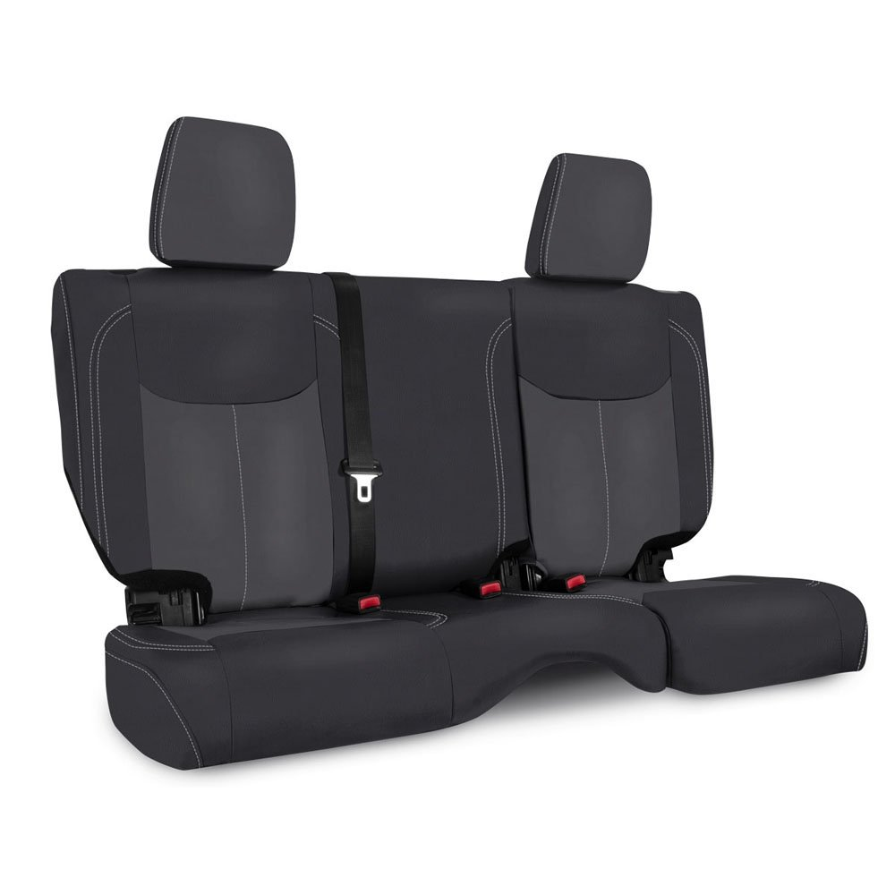 Jeep Prp Rear Seat Cover For 2013-2017 Jk, Black And Grey | 2013-2017 Wrangler JK, PRP-B023-03