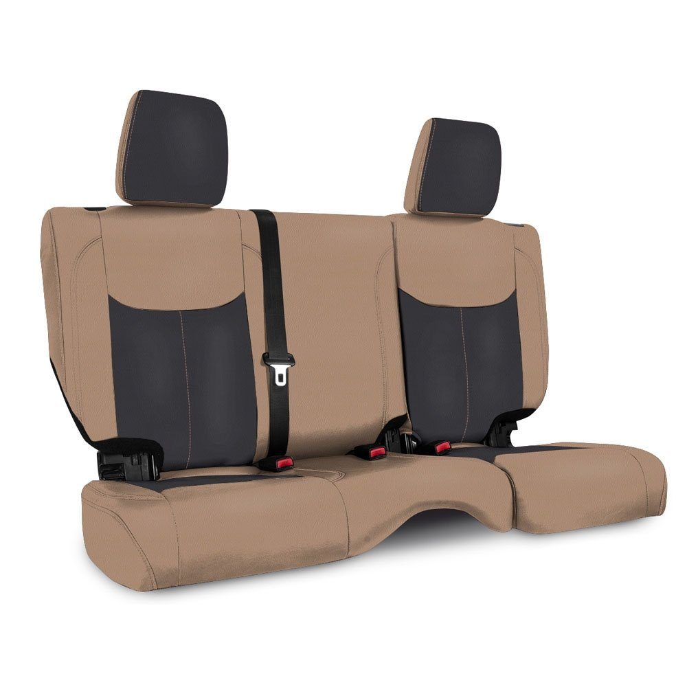 Jeep Prp Rear Seat Cover For 2013-2017 Jku, Black And Tan | 2013-2017 Wrangler JKU, PRP-B024-04