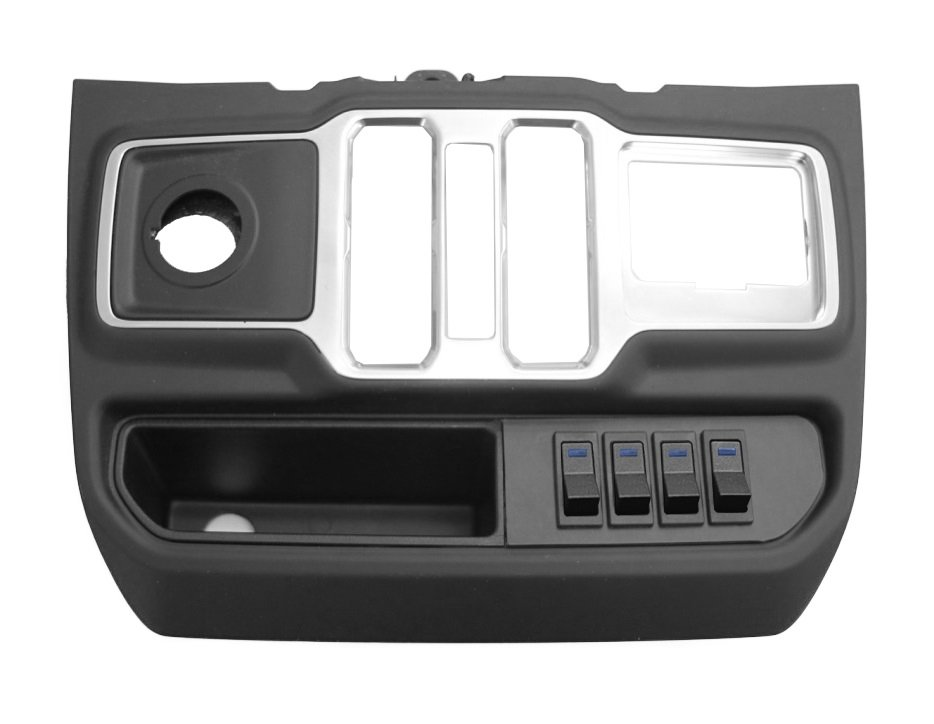 Jeep S-Tech Switch Systems 4 Position Control System For Jl With Micro Blue Led | 2018-2019