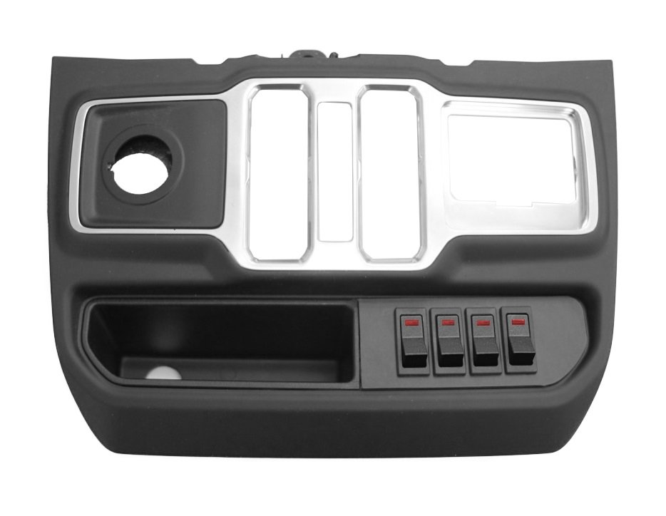 Jeep S-Tech Switch Systems 4 Position Control System For Jl With Micro Red Led | 2018-2019 Wrangler