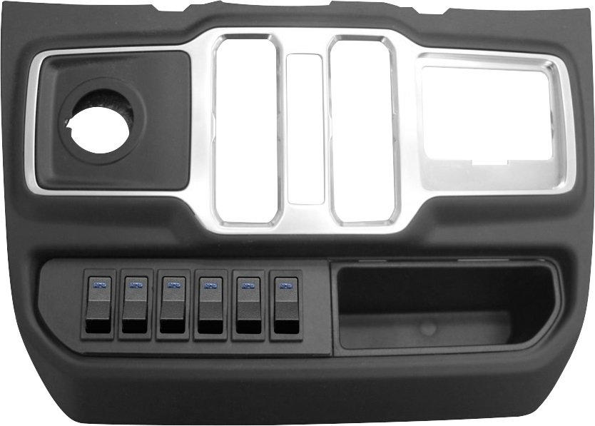 Jeep S-Tech Switch Systems 6 Position Control System For Jl With Micro Blue Led | 2018-2019